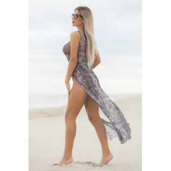 Rochie plaja Snake