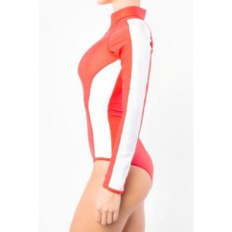 Scuba Red&White